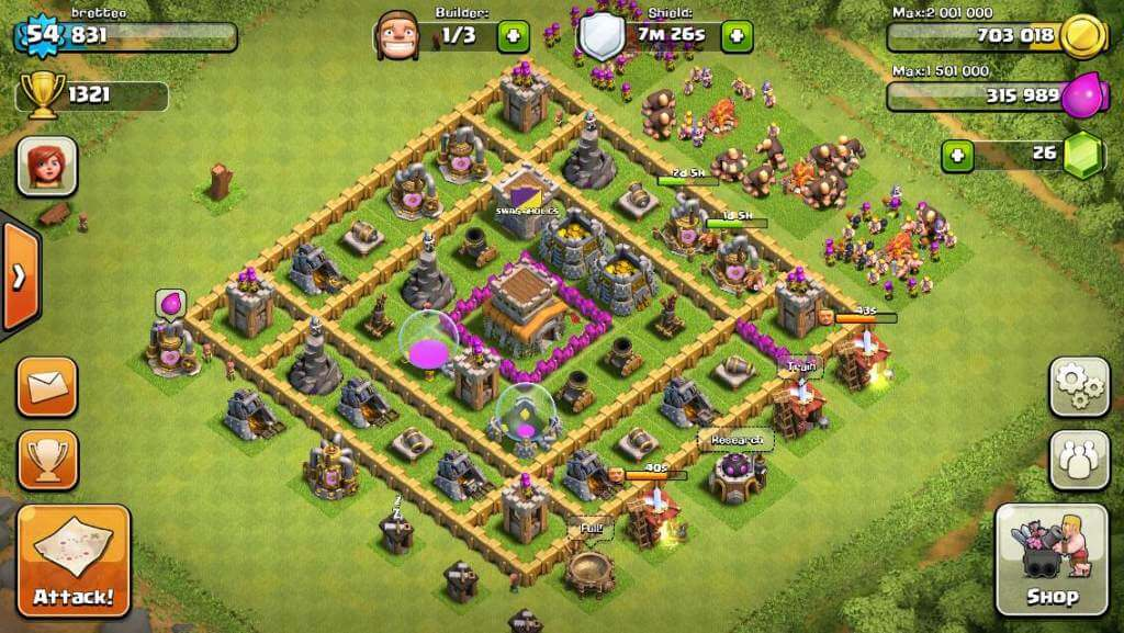 Clash-of-Clans-village