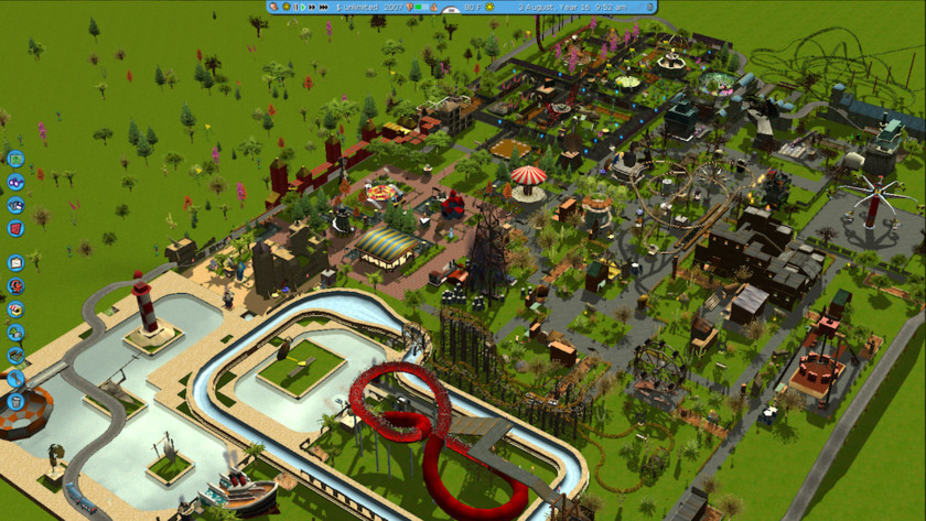 theme-park-simulator-game-roller coaster tycoon
