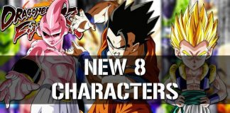 dragon ball fighterz new 8 characters