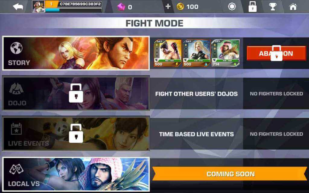 tekken-fight-modes