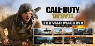 Call of Duty WWII - DLC Pack 2 The War Machine Release on April 10th