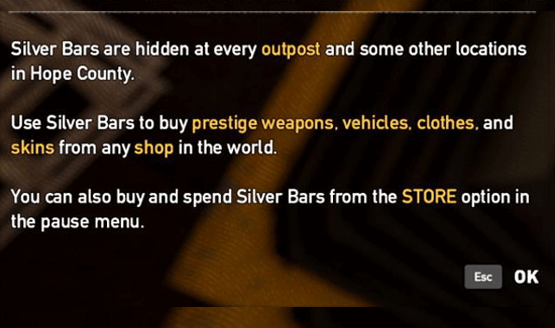 Far-Cry-5-microtransactions-silver-bars-store-purchase
