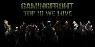 gamingfront's top 10 games we love