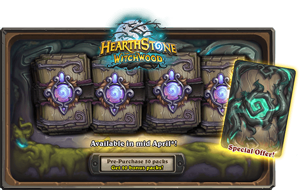 hearthstone the witchwood special offer april