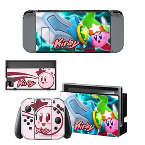 nintendo switch kirby skin