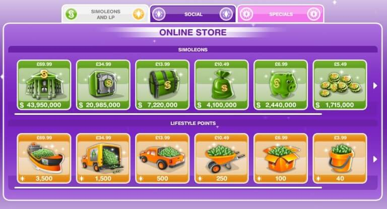 sims-mobile-in-app-purchase-microtransactions