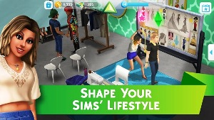 the sims mobile shape your lifestyle