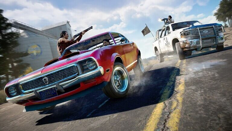 Far-Cry-5-car-chase-gameplay-screen