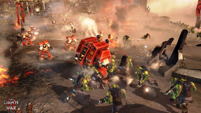 Warhammer 40,000 Dawn of War II gameplay screen2
