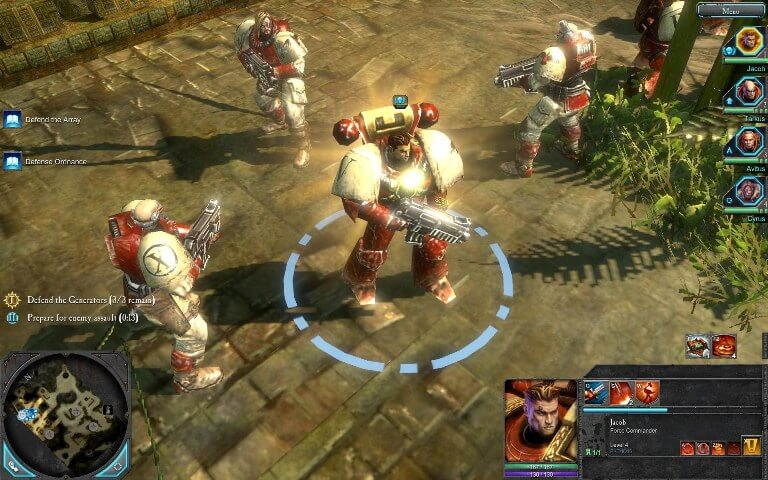 Warhammer 40,000 Dawn of War II gameplay