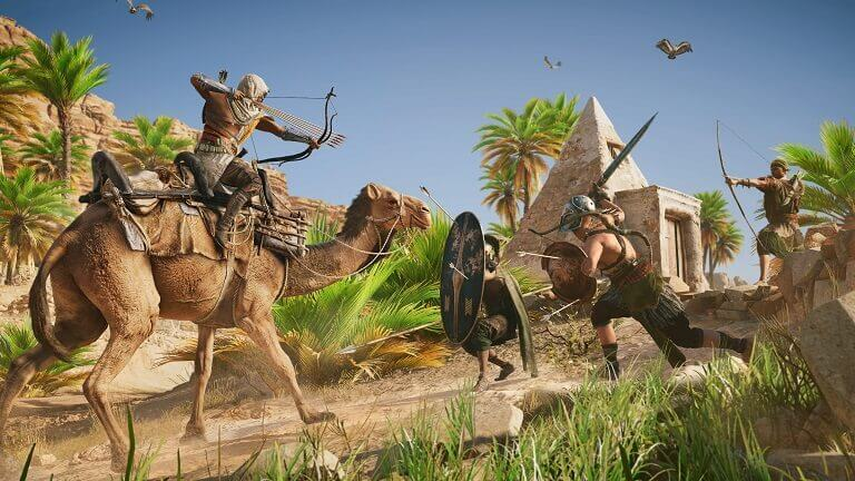 assassins-creed-origins-in-game-combat-screen