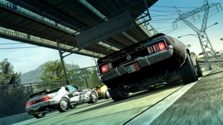 burnout-paradise-remastered-ps4-screenshot-4k-american-muscle-car