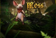 moss video game review for PS4 VR