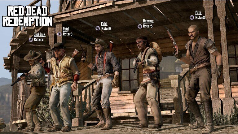 new red dead redemption 2 multiplayer screen
