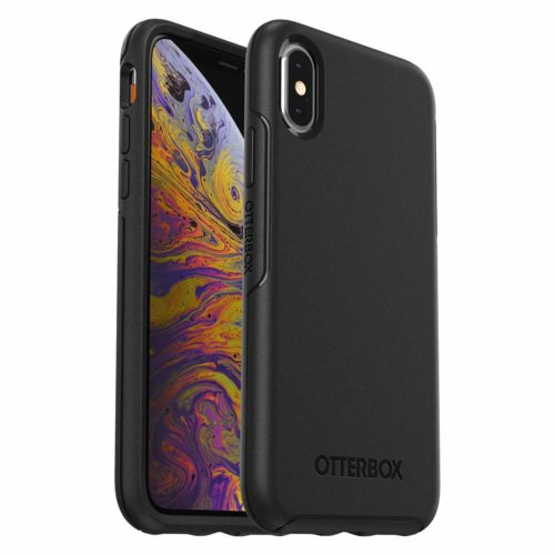 1. OtterBox SYMMETRY SERIES Case for iPhone Xs & iPhone X - Retail Packaging - BLACK