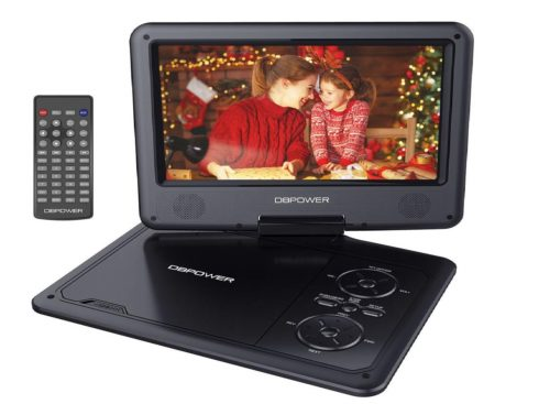 1.DBPOWER-9.5-Portable-DVD-Player-with-Swivel-Screen-5-Hour-Built-in-Rechargeable-Battery-Support-CD-DVD-SD-Card-USB-with-Car-Charger-and-Power-Adaptor.