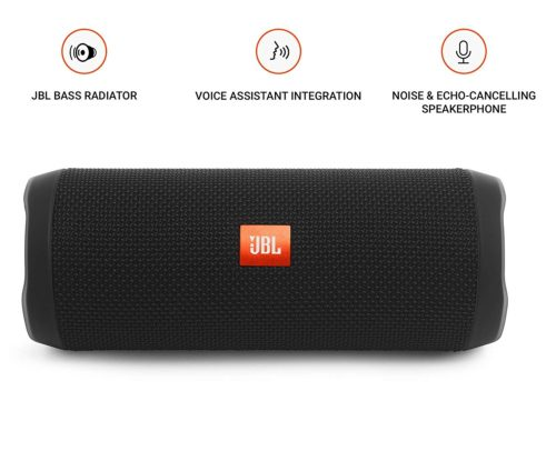 JBL-Flip-4-Bluetooth-Portable-Stereo-Speaker-black
