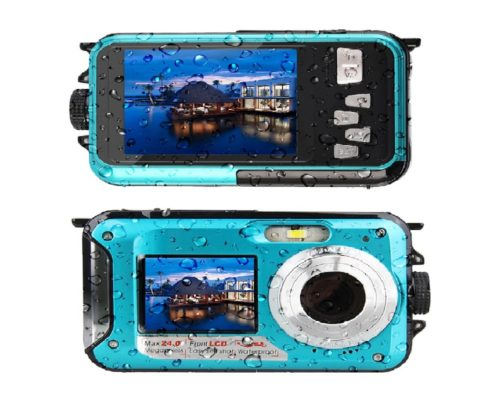 10.Waterproof-Digital-Camera-Underwater-Camera-24-MP-Video-Recorder-Full-HD-1080P-Selfie-Dual-Screen-Waterproof-Camera-DV-Recording-Point-and-Shoot-Digital-Camera