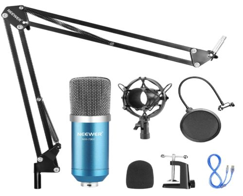 11.Neewer-USB-Microphone-for-Windows-and-Mac-with-Suspension-Scissor-Arm-Stand-Shock-Mount-Pop-Filter-USB-Cable-and-Table-Mounting-Clamp-Kit-for....
