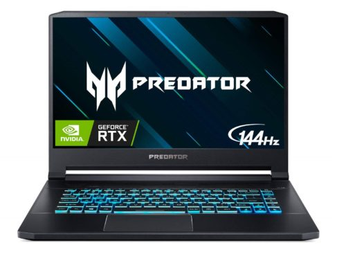 12. Acer Predator Triton 500 Thin & Light Gaming Laptop, Intel Core i7-8750H, GeForce RTX 2080 Max-Q