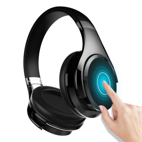 12. Zealot B21 Deep Bass Portable Touch Control Wireless Bluetooth Over-Ear Headphones, Wired Headset with Built-in Mic for iPhone PC TV Computer Smartphone Travel Work