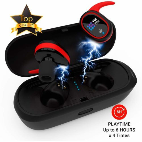 13. Upgraded 2019 True Wireless Bluetooth Earbuds - 24 Hours Playtime Quality Stereo Sound