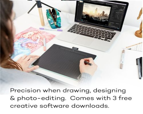 13.Wacom-Intuos-Wireless-Graphics-Drawing-Tablet-with-3-Bonus-Software-Included-10.4-x-7.8-Black-CTL6100WLK0