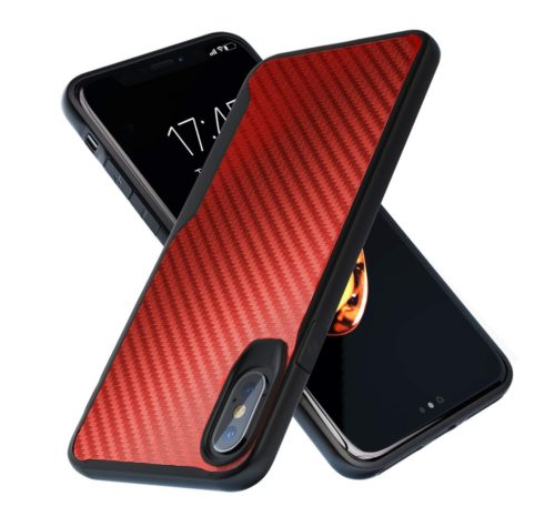 14. iPhone X Case,iPhone Xs Case, 10ft. Drop Tested Carbon Case, Ultra Slim, Lightweight, Scratch Resistant