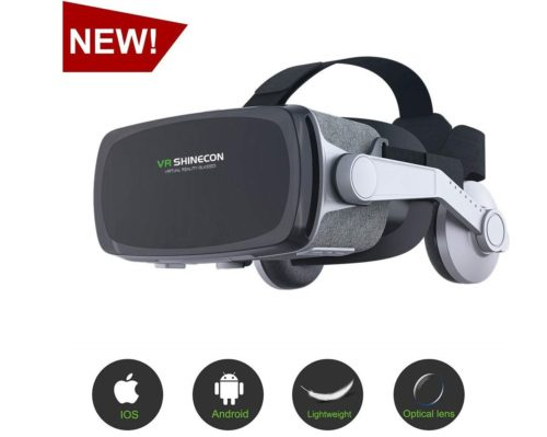 15. Virtual Reality Headset, VR SHINECON VR Goggles VR Headsets for TV