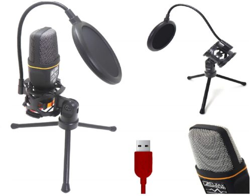 15.USB-Microphone-with-Stand-and-Pop-Filter-Double-Layered-Suspension-Tripod-for-PC-Gaming-Laptop-Windows-or-Mac-YouTube-Twitch-Video-Recording-and-Streaming-Audio