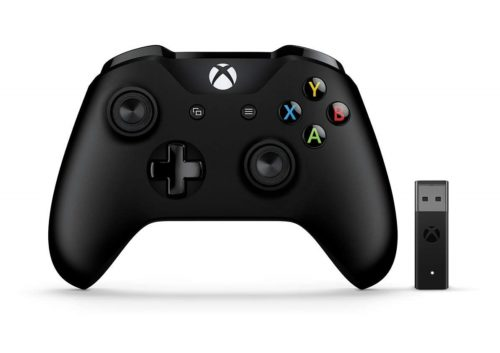 2. Microsoft Xbox Wireless Controller + Wireless Adapter for Windows 10