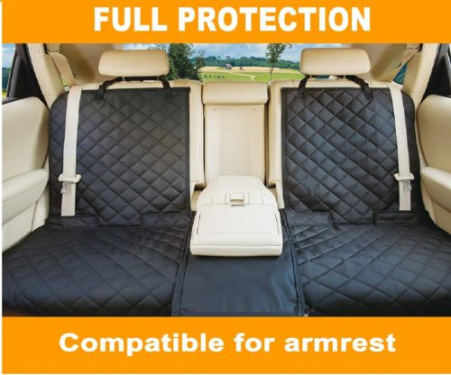 3.YESYEES-Waterproof-Dog-Car-Seat-Covers-Pet-Seat-Cover-Nonslip-Bench-Seat-Cover-Compatible-for-Middle-Seat-Belt-and-Armrest-Fits-Most-Cars-Trucks-SUVs