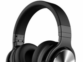 4. COWIN E7 PRO [Upgraded] Active Noise Cancelling Headphones Bluetooth Headphones with Microphone