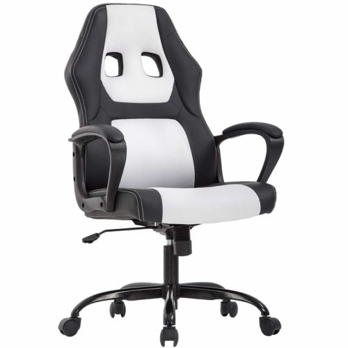 4. New High Back Racing Car Style Bucket Seat Office Desk Chair Gaming Chair