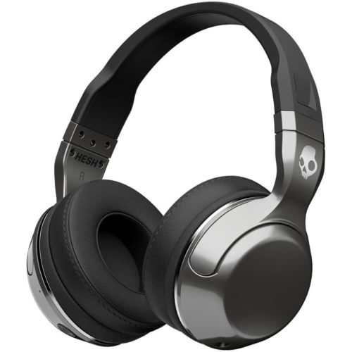 5. Skullcandy Hesh 2 Bluetooth Wireless Over-Ear Headphones with Microphone, Supreme Sound and Powerful Bass, 15-Hour Rechargeable Battery