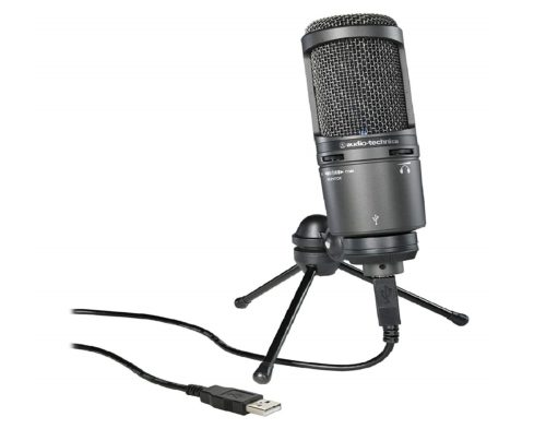 5.Audio-Technica-AT2020USB-Plus-Cardioid-Large-Diaphragm-Condenser-USB-Mic