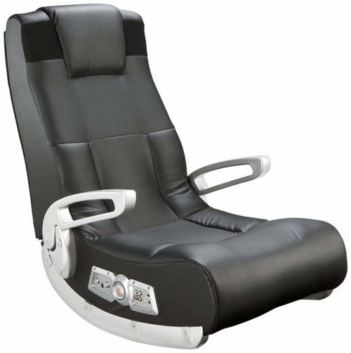 6. Ace Bayou X Rocker 5143601 II Video Gaming Chair, Wireless, Black