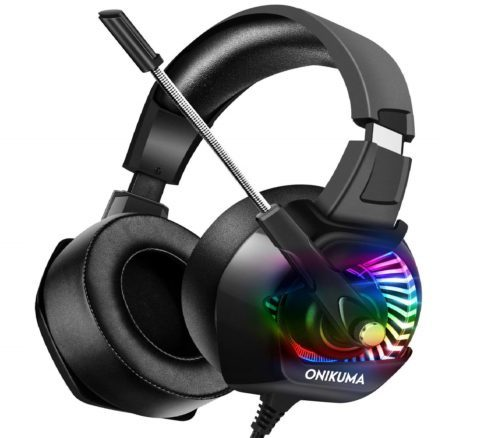 6.ONIKUMA-Stereo-Gaming-Headset-for-PC-PS4-Xbox-One-Playstation-Games-Noise-Cancelling-Headphones-for-Mac-Laptop-Nintendo-Switch-RGB-LED-Lights-7.1.