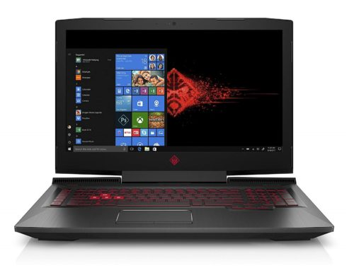 7. OMEN by HP 17-inch Gaming Laptop w, 144Hz Anti-Glare G-Sync Display, i7-8750H, GeForce GTX 1060 6 GB, 16GB 2666MHz RAM, 1TB HDD & 128 GB PCIE SSD