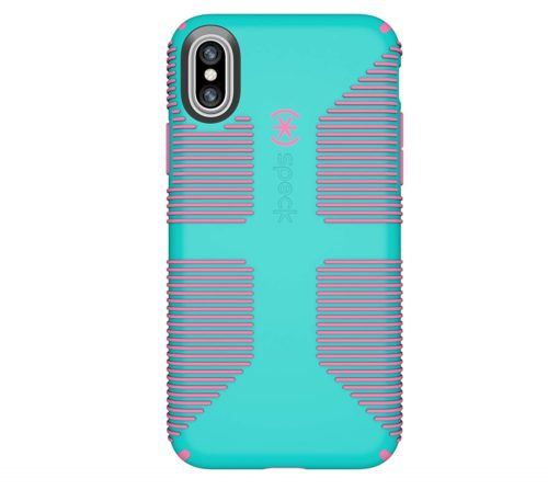 7. Speck Products CandyShell Grip Cell Phone Case for iPhone XS,iPhone X