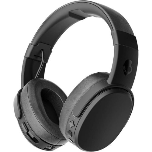 8. Skullcandy Crusher Bluetooth Wireless Over-Ear Headphone with Microphone, Noise Isolating Memory Foam, Adjustable and Immersive Stereo Haptic Bass