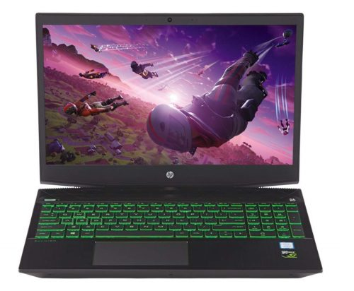 9. Flagship 2019 HP Pavilion 15.6 FHD IPS Micro-Edge Gaming Laptop Intel Quad-Core i5-8300H