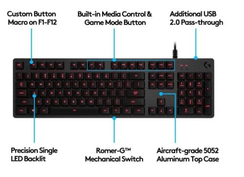 9..Logitech-G413-Backlit-Mechanical-Gaming-Keyboard-with-USB-Passthrough-–-Carbon