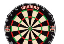 1.Winmau-Blade-5-Bristle-Dartboard-with-All-New-Thinner-Wiring-for-Higher-Scoring-and-Reduced-Bounce-Outs