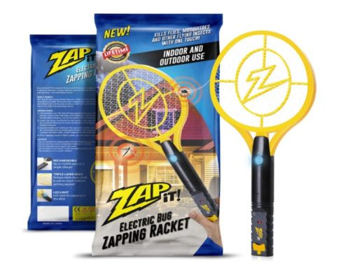 1.ZAP-IT-Bug-Zapper-Rechargeable-Mosquito-Fly-Killer-and-Bug-Zapper-Racket-4000-Volt-USB-Charging-Super-Bright-LED-Light-to-Zap-in-the-Dark-Unique