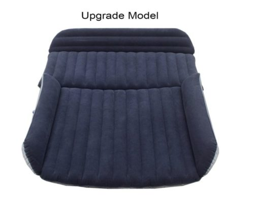 10. FOCHEA Car Inflatable Air Mattress Bed Cushion for Sedan SUV, Thicken Auto Camping Travel Mattress