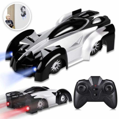 10. YEZI Rc Cars for Kids,360°Rotating Stunt Dual Mode Climbing Car Rechargeable, Head and Rear with Powerful LED Light,Remote Control Car Toys