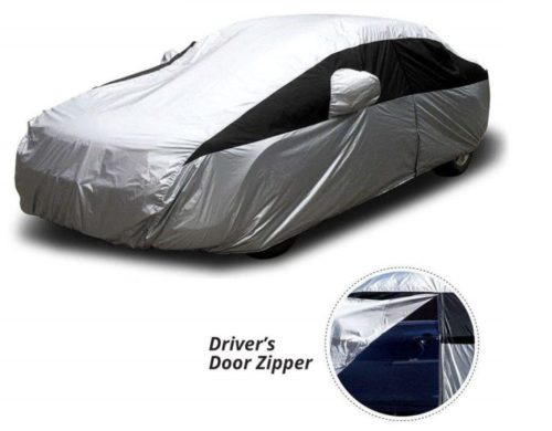 11. Titan Lightweight Car Cover, Outdoor Waterproof Cover For Toyota Camry and More