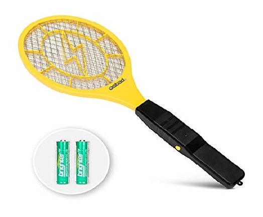 11.3000-Volt-Electric-Fly-Swatter-Mini-Bug-Zapper-Outdoor-Fly-Killer-Indoor-Electric-Safe-to-use-on-Bugs-Inside-or-Outside-Made-from-Durable-ABS-Material