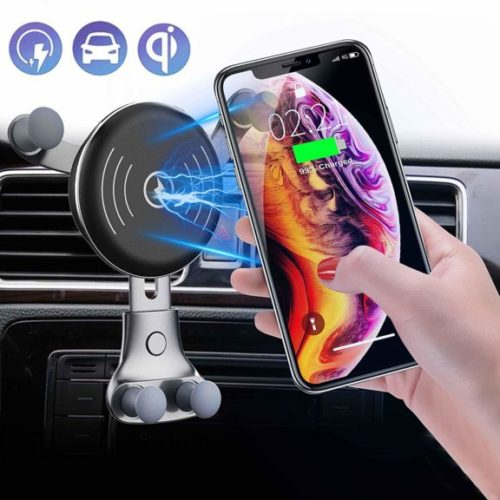 12. 2019 UPGRADED Wireless Car Charger Air Vent Phone Holder, 10W Compatible for Samsung Galaxy